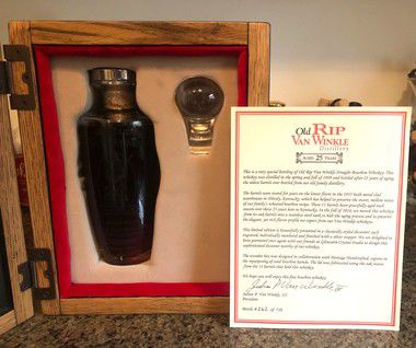 This very rare bourbon raised a lot of money for Hogs for the Cause
