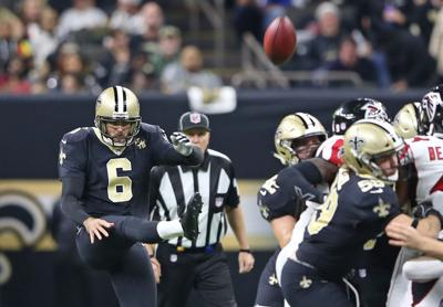 The New Orleans Saints host the Atlanta Falcons, 2018, photos