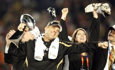 New Orleans Saints officially announce signing of Coach Sean Payton
