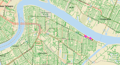 Barge knocks out power in Algiers: report