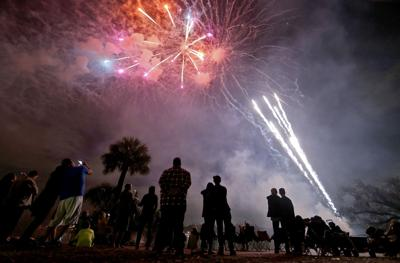 Pre-pandemic fireworks for GAM 010521