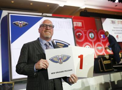 New Orleans Pelicans win NBA Draft lottery, right to draft Zion Williamson