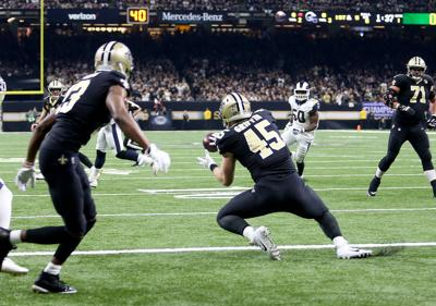 Garrett Griffin's first career TD for Saints was bittersweet in NFC Championship loss
