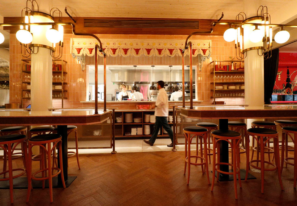 Bold brasserie Justine opens in the French Quarter