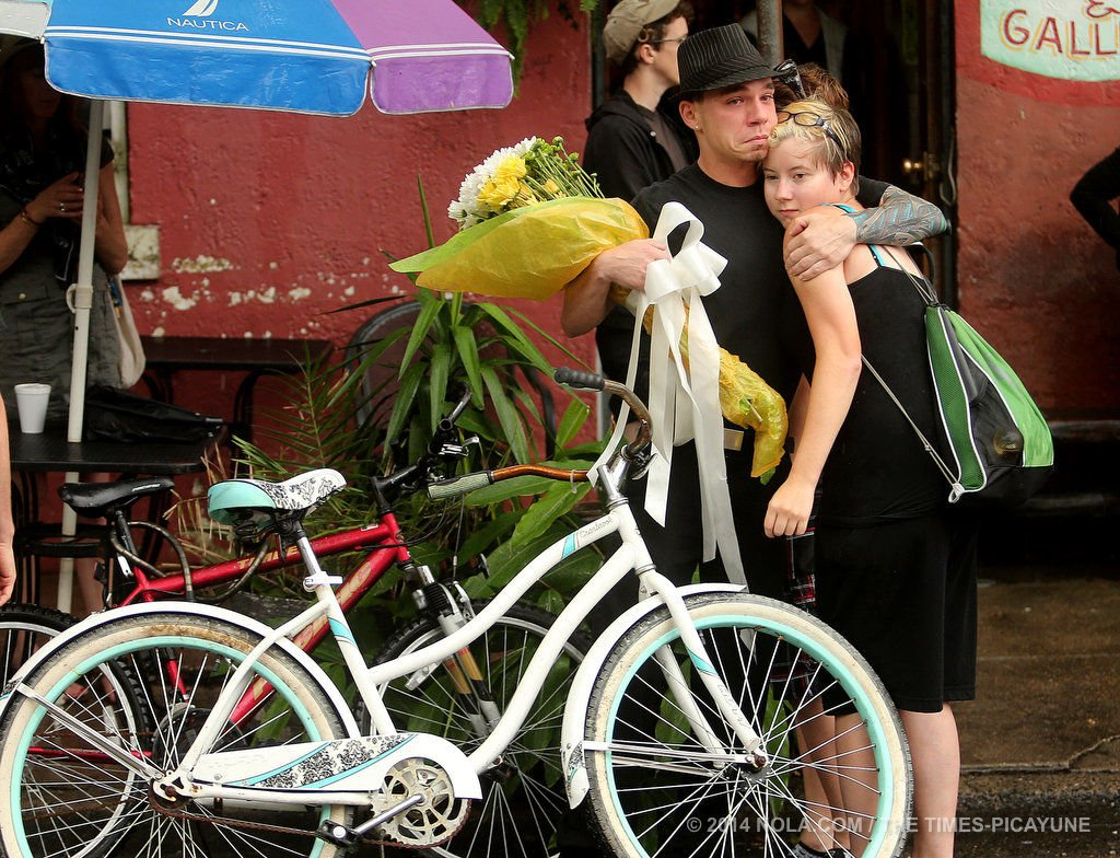 New Orleans cyclists plan 'die-in' at City Hall after a string of fatal wrecks