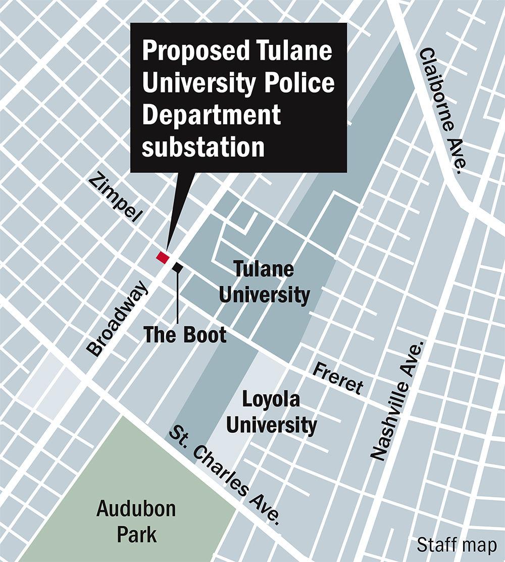 092619 Tulane Police station