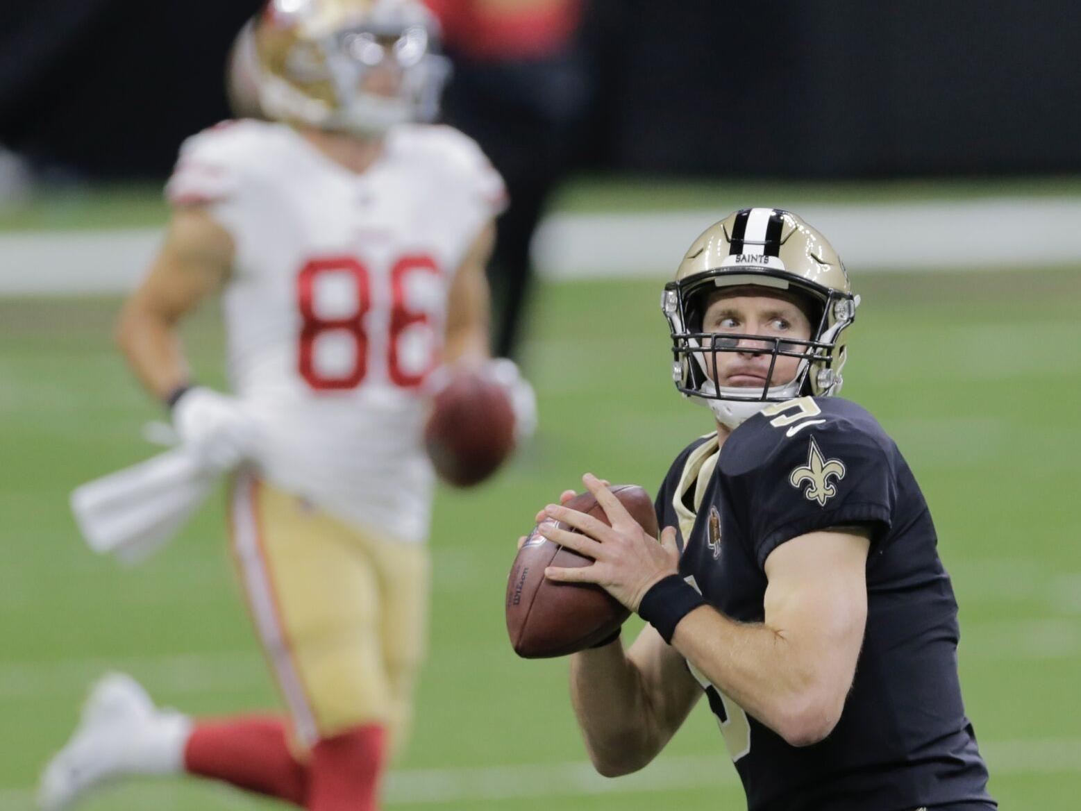 Drew Brees Hurt Jameis Winston In At Qb More What We Learned As Saints Defeat 49ers Saints Nola Com