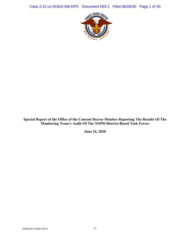 NOPD task force report