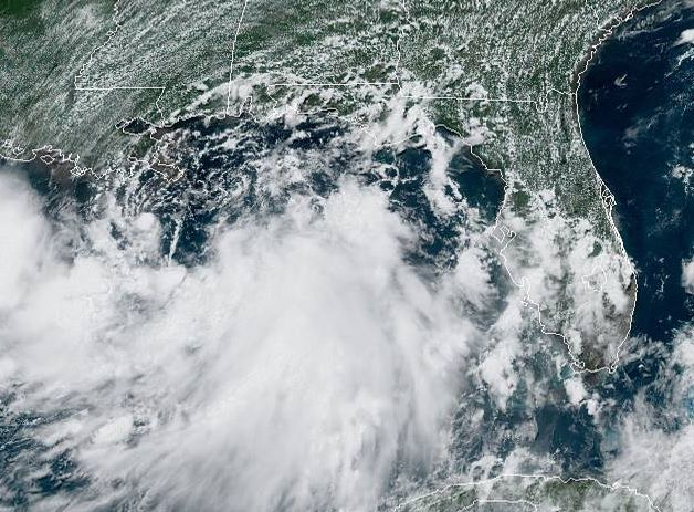 Tropical Storm Barry 1 p.m. July 11, 2019