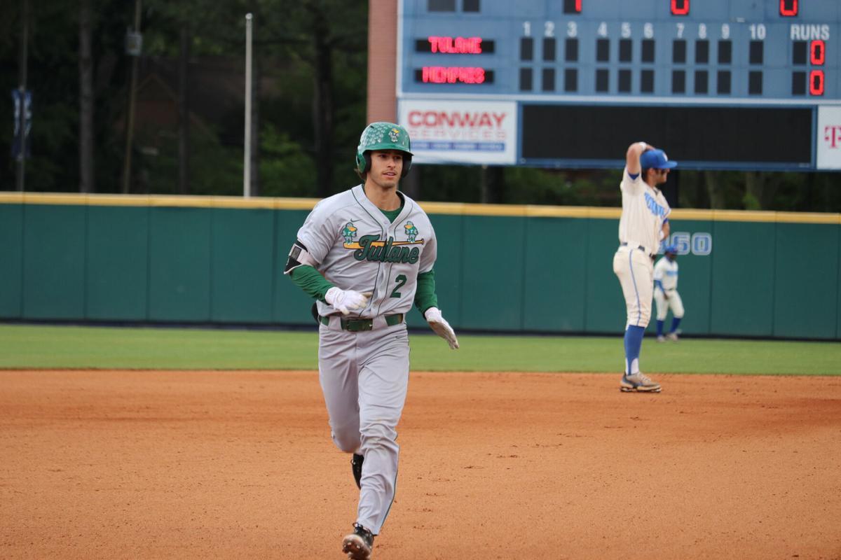 Tulane Memphis baseball