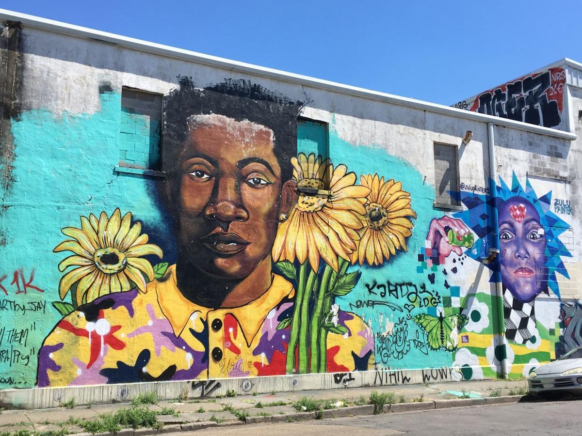 Sunflowers on Franklin Avenue