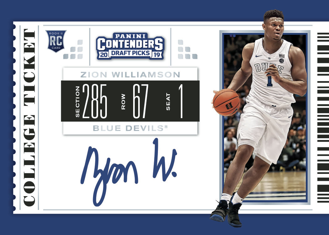 Zion Williamson Signs Exclusive Trading Card Deal With Panini