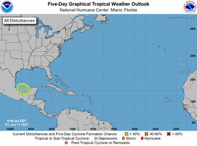 Tropical weather outlook June11 7am