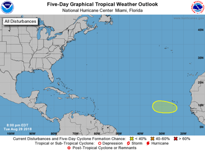 Tropical wave to move off Africa later this week: National Hurricane Center