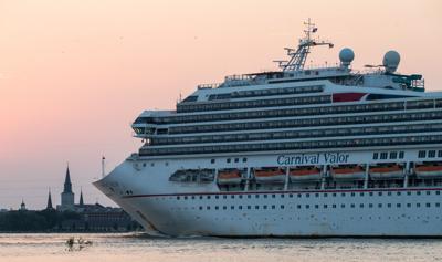 File photo of Carnival cruise ship Valor