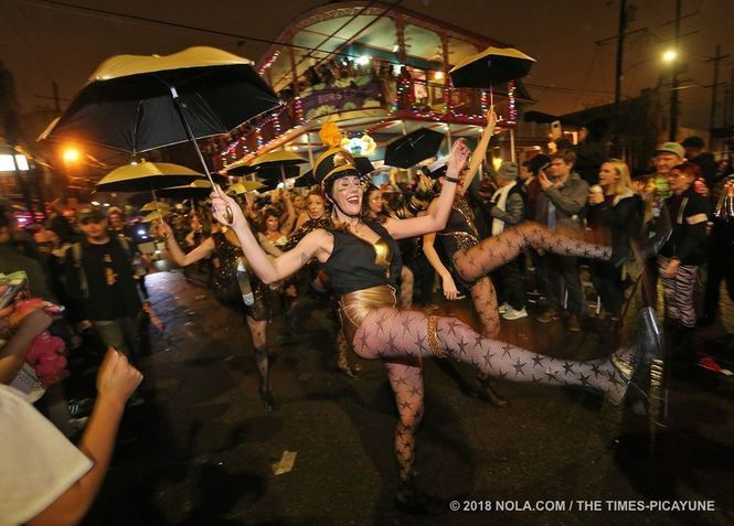 40 nutty Mardi Gras dance and marching groups ... and counting