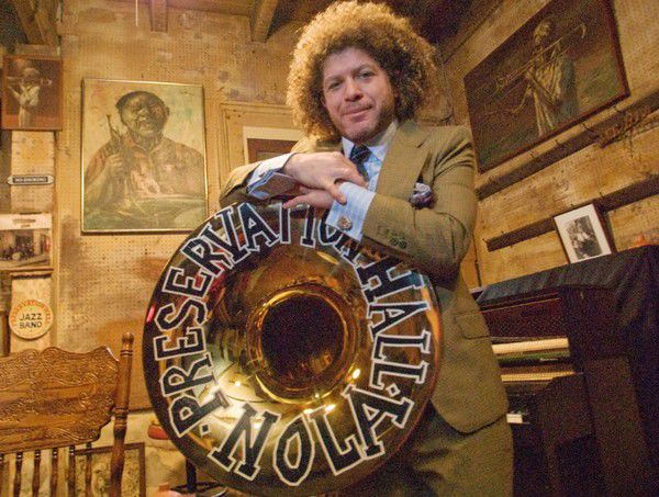 Preservation Hall's stolen tuba is back -- and damaged a little