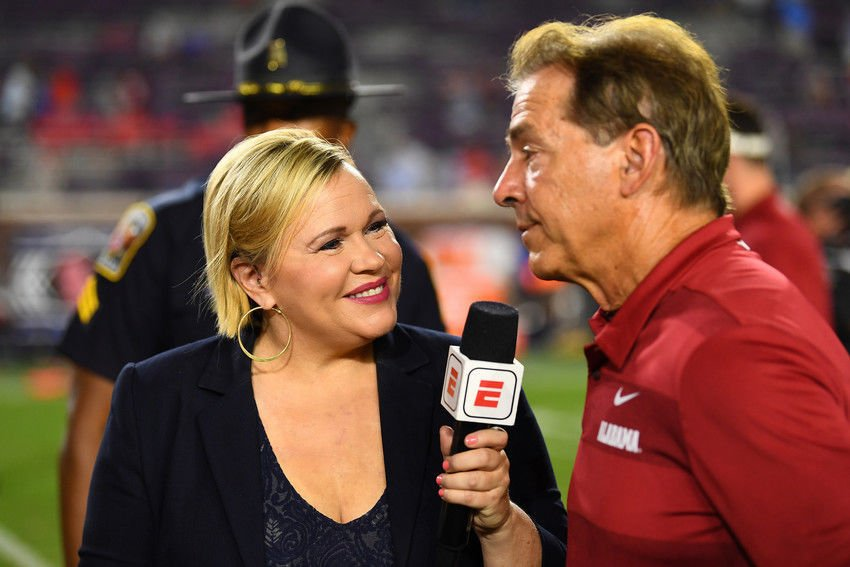 In town for Sugar Bowl, ESPN's Holly Rowe says 'I'm living better ...