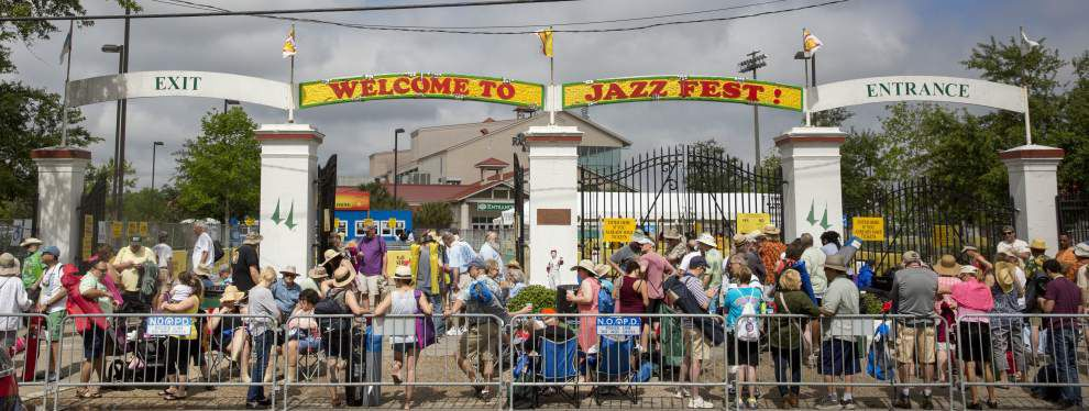 PHOTOS: Cloudy skies turn to colorful tunes, somber memories at opening day of New Orleans Jazz Fest 2016 _lowres