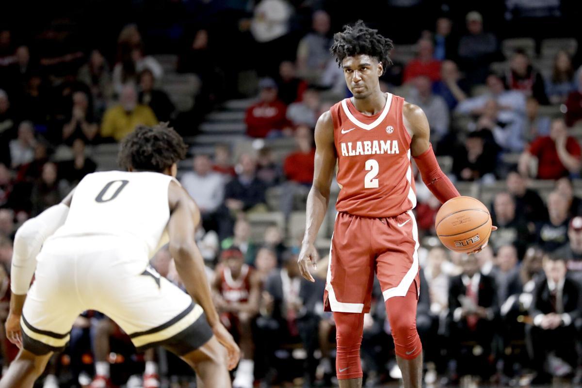 Alabama Vanderbilt Basketball