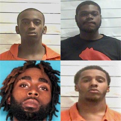 Four alleged T-Blocc members