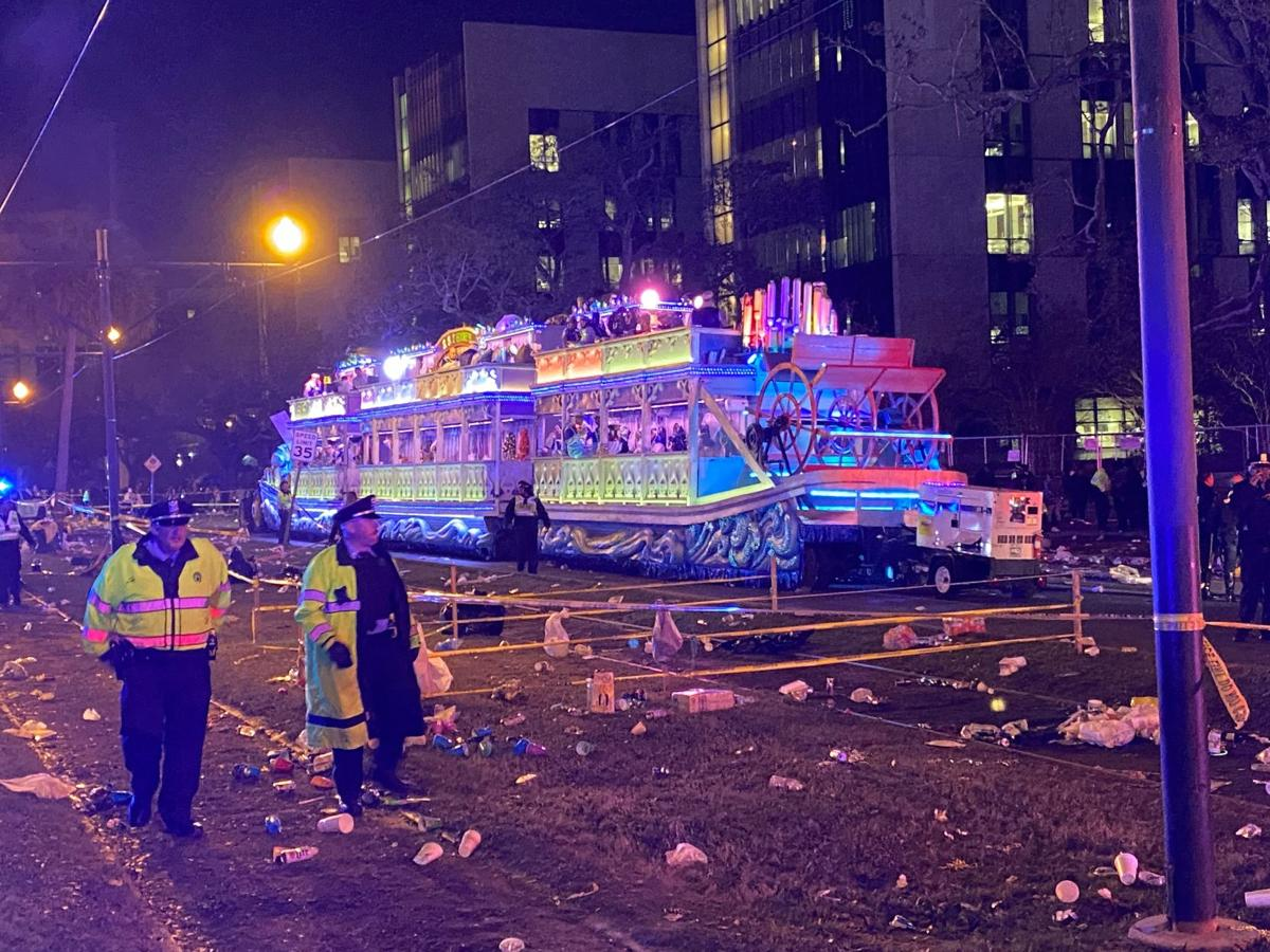 Endymion parade accident