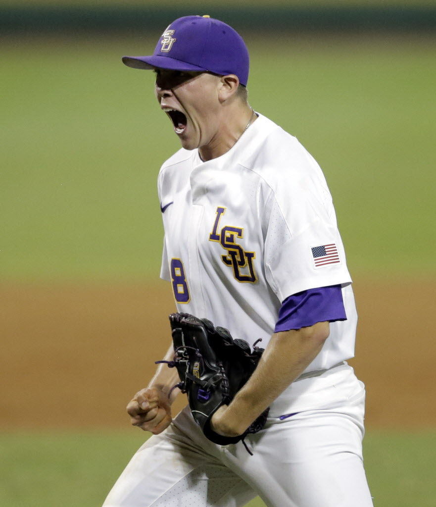 lsu pitcher zack hess prepared to go from thing