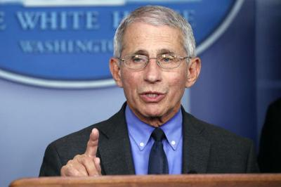 Dr. Anthony Fauci file photo