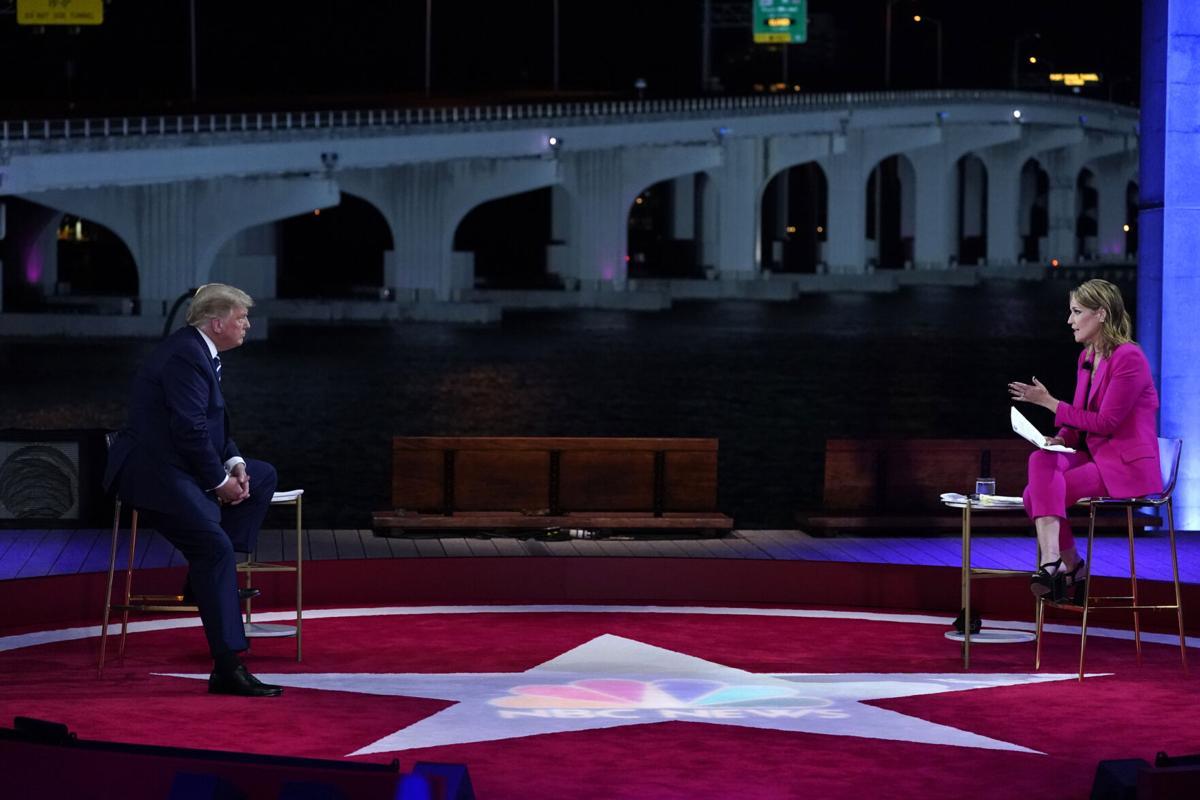 Donald Trump at NBC Town Hall