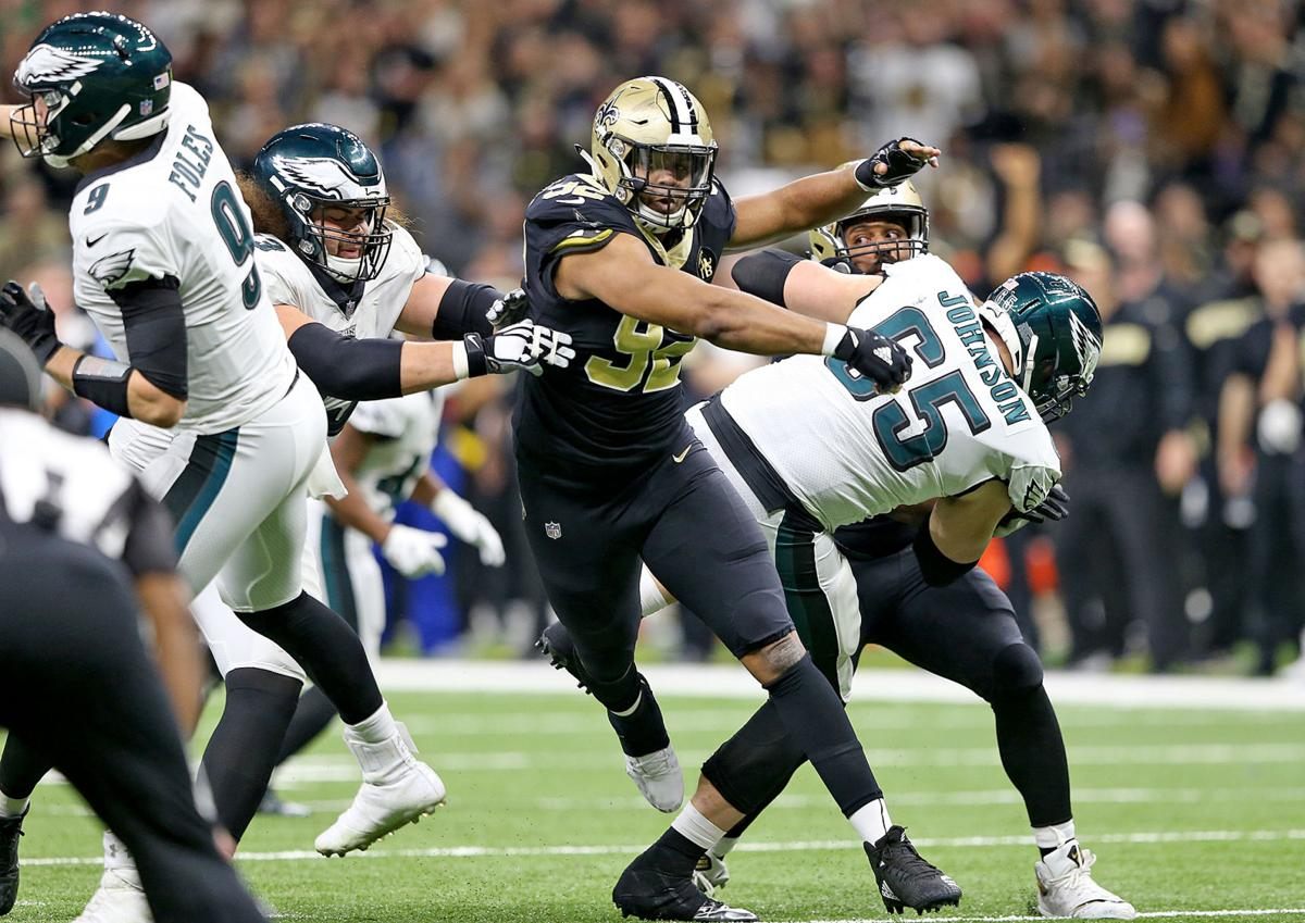 Saints 'looking for big things' from Marcus Davenport