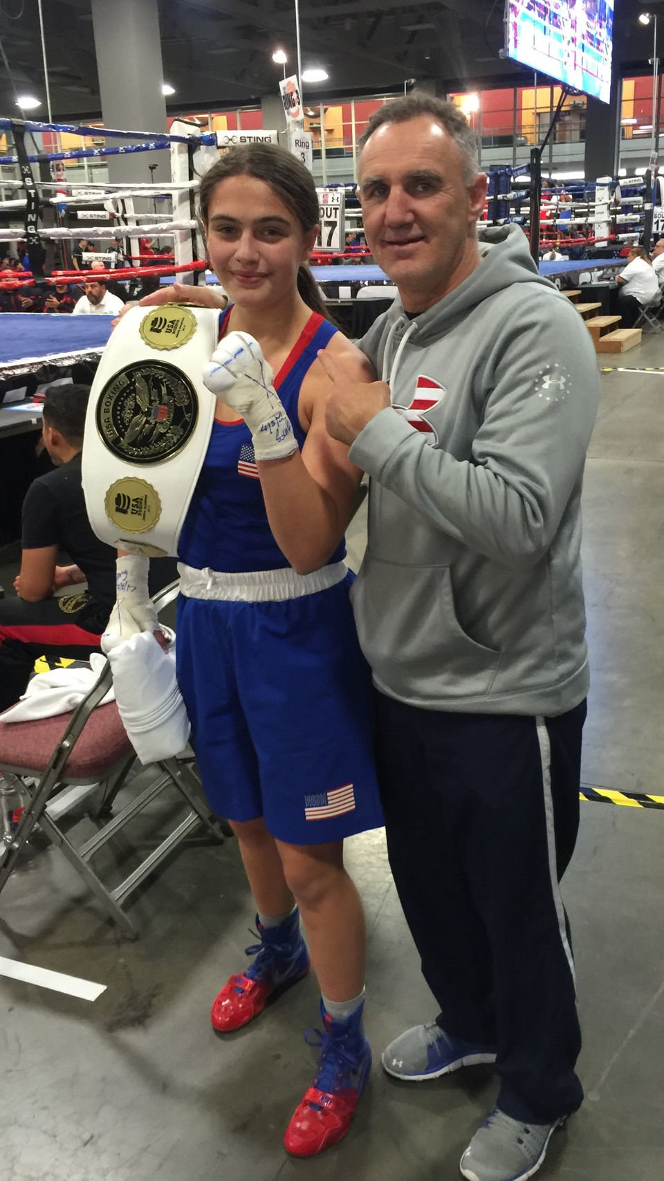 Alexis Lavarine has a puncher's chance of getting to Tokyo Olympics in 2020