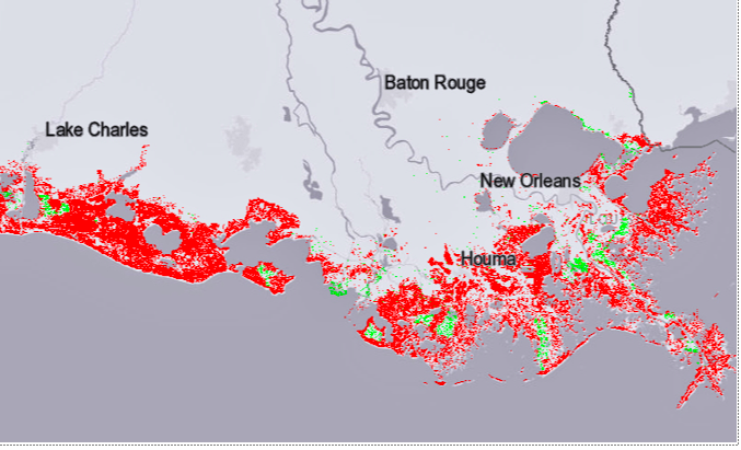 Attention Louisiana climate deniers: Insurers say climate change now biggest risk
