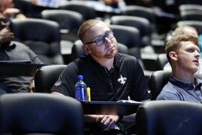 'I'm all ball:' New LSU coach Joe Brady makes his public intro at LSU Coaches Clinic