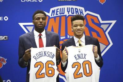 Mitchell Robinson getting back to basics in preparation for NBA