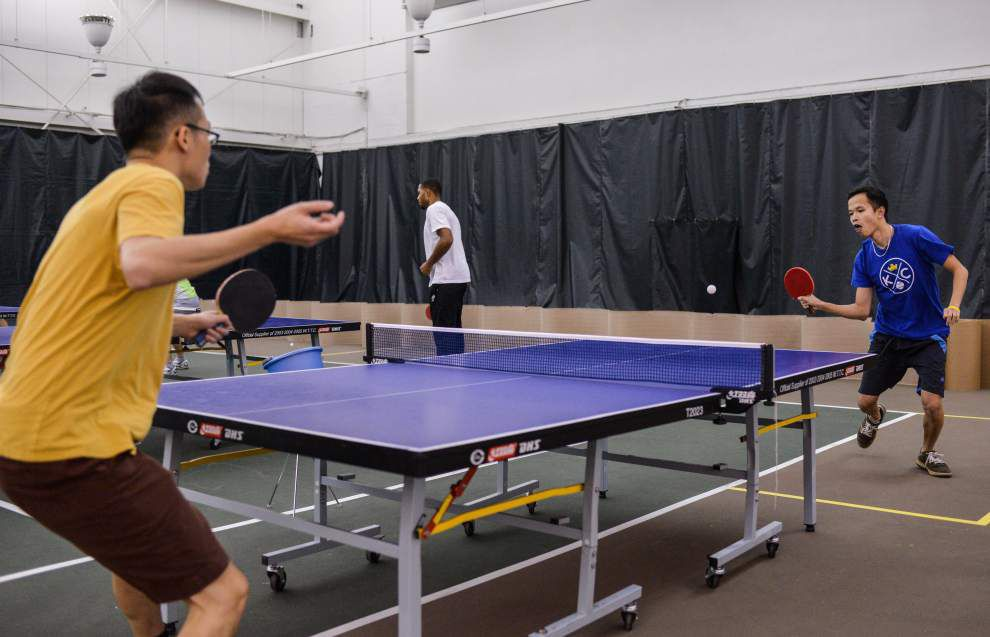 Outstanding Pingpong Club Appeals To A Diverse Crowd News Nola Com Download Free Architecture Designs Intelgarnamadebymaigaardcom