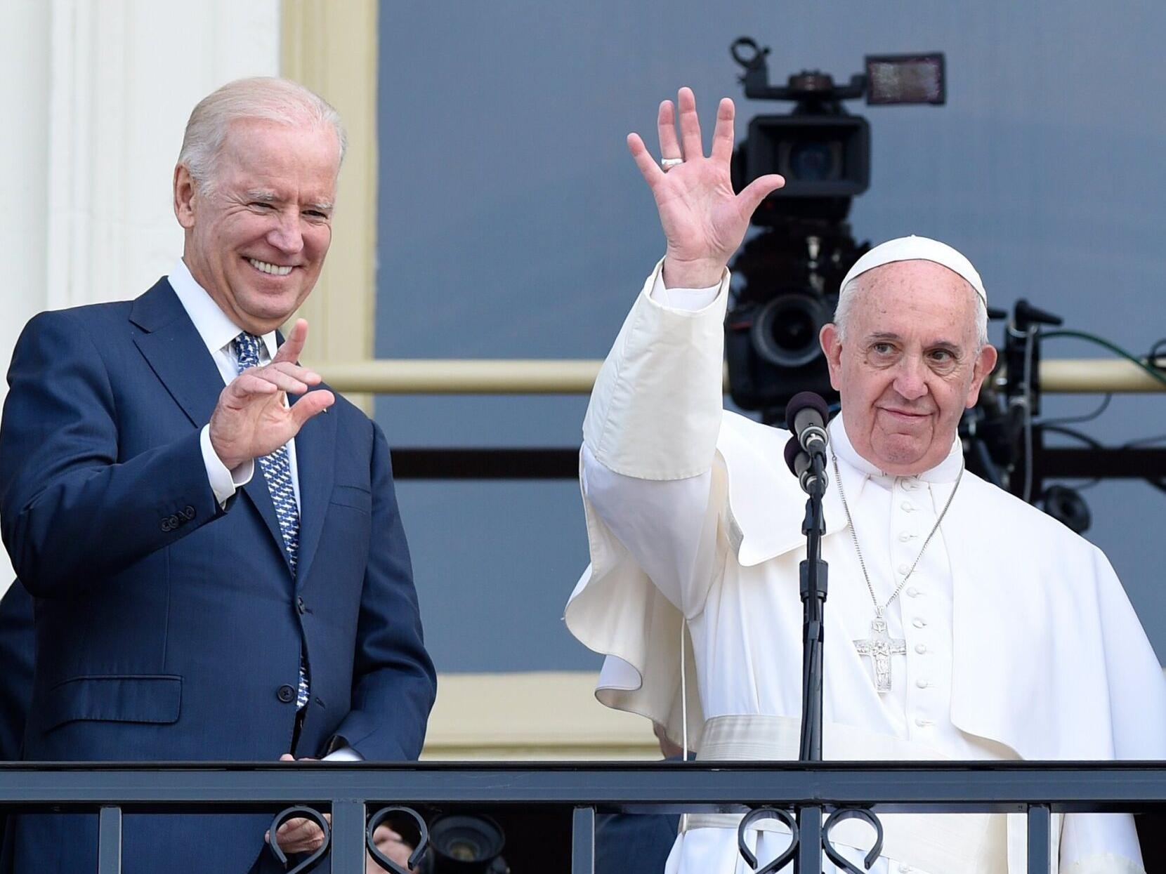 Pope Francis Congratulates Joe Biden A Lifelong Catholic On Election Victory Local Politics Nola Com