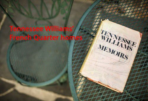 Take a tour through Tennessee Williams' many French Quarter homes