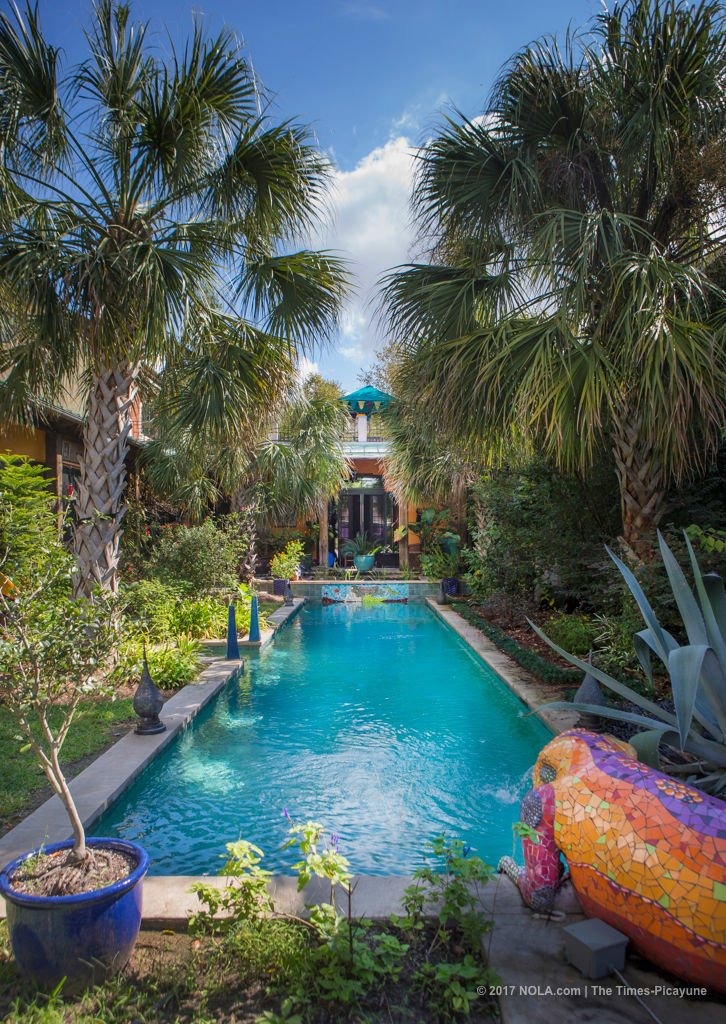 Pres Kabacoff and Sallie Ann Glassman's Bywater abode blends eco features with exotic art