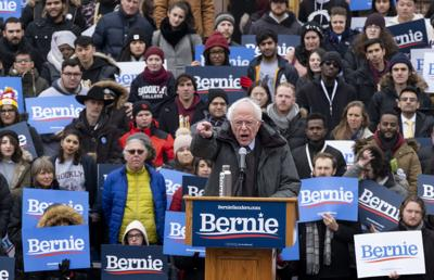 Bernie's back: Sanders launches 2020 presidential bid