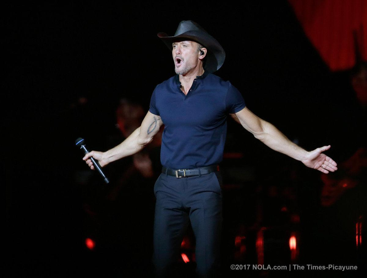 Tim McGraw, Faith Hill make powerful tour launch in New Orleans