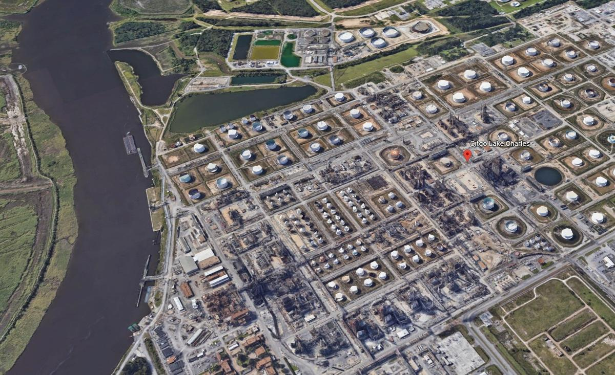 CITGO Refinery in Westlake