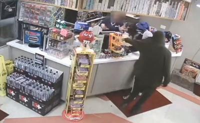 Covington Shell station armed robbery