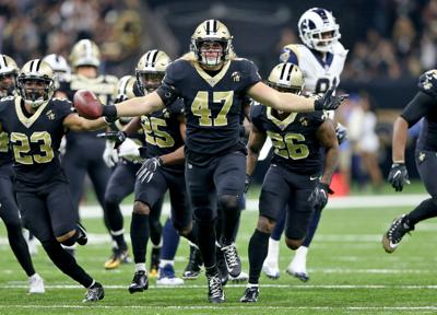 New Orleans Saints host the Los Angeles Rams