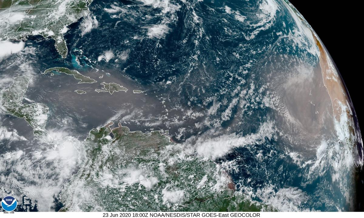 Dust across the Atlantic