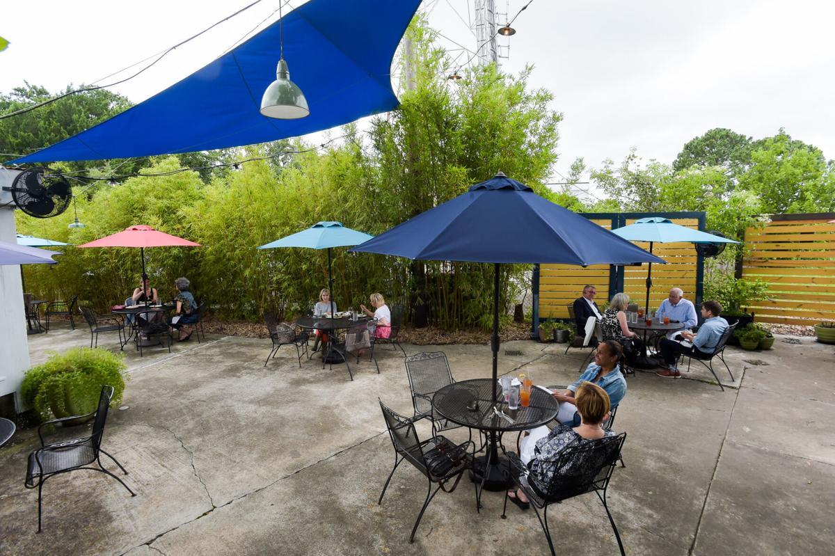 Rosedale patio dining
