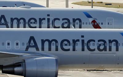 American Airlines jets