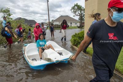 Hurricane Ida flooding LaPlace
