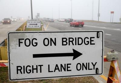 Fog restrictions on Lake Pontchartrain Causeway file photo