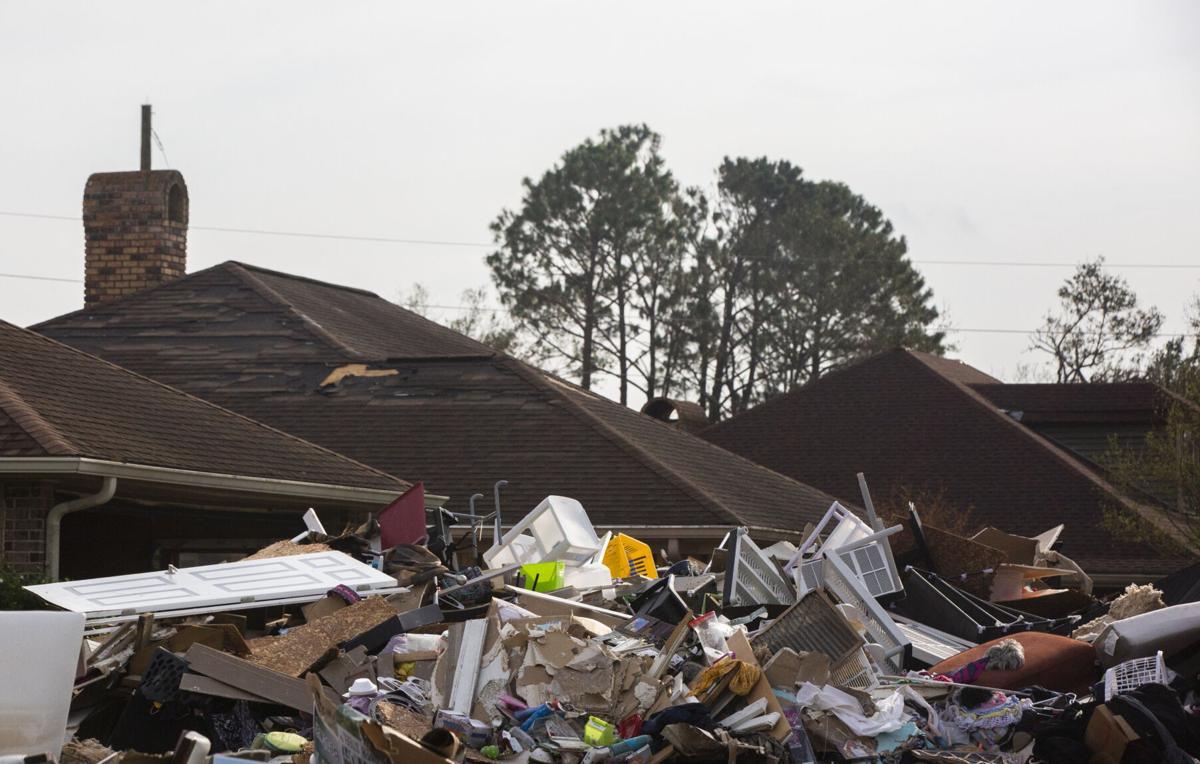 LaPlace house gutting after Hurricane Ida