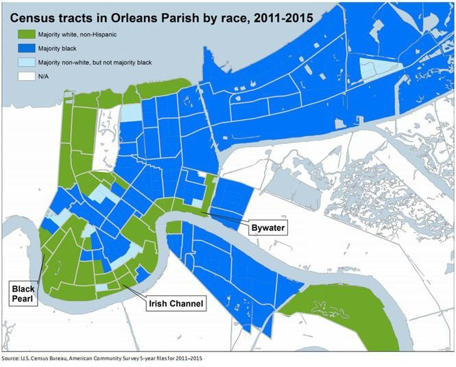 8 reasons why New Orleans neighborhoods remain segregated